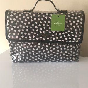 Kate Spade Lita Brook Place Travel Make Up Bag